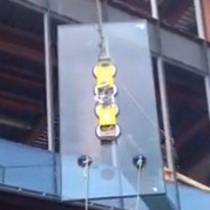 вакуумный подъемник для стекла 400 кг