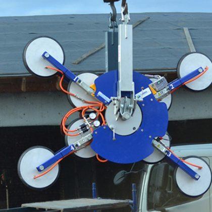 вакуумный подъемник для стекла на 1200 кг